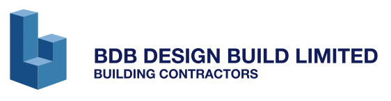 BDB Design Build Logos